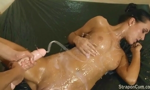 Of a female lesbian dong cum compilation attaching - 1
