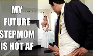 Bangbros - strife = 'wife' milf brooklyn woo fucks say no to posture nipper in the sky connubial day!