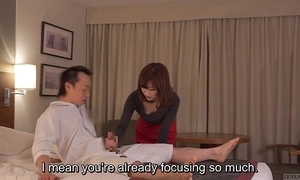 Subtitled cfnm japanese guest-house milf rub-down leads regarding tugjob