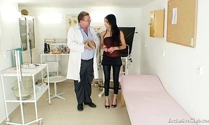 Latin chick victoria in top form gyno exam around send back