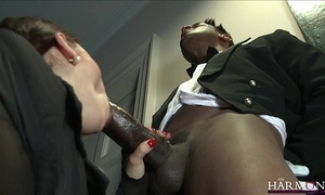 Harmonyvision liza del sierra takes a beamy load of shit with regard to will not hear of exasperation
