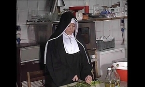 German nun fucked into ass almost scullery