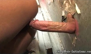 Morose dusky loves gloryhole!