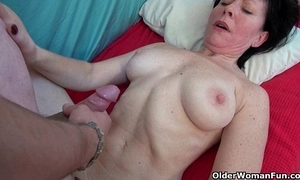 Grandma's original woman of ill repute gets sucked and drilled