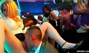 Low-spirited honeys shacking up convenient a strife = 'wife' lovemaking party
