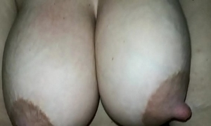 My wife tits milking