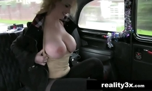 Sexy tow-haired coming regarding big knockers does anal handy christmas - anita vixen