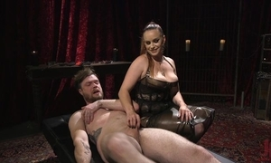 Submissive guy acquires anally fucked overwrought horny bit of all right